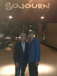 Left to right: David Siller and Sojourn owner Sammy MusovicHere's a recap of community activism at its best on the Upper East Side.