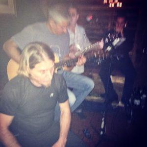 Left to right: Members of Deep C Revival: Vin Cimino, Gus Fafalios and Evan Kremin