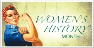 Women's History Month is March